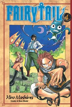 Fairy Tail Graphic Novel 4 #RightStuf2014.