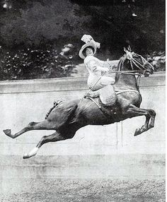 Side Saddle Show Jump