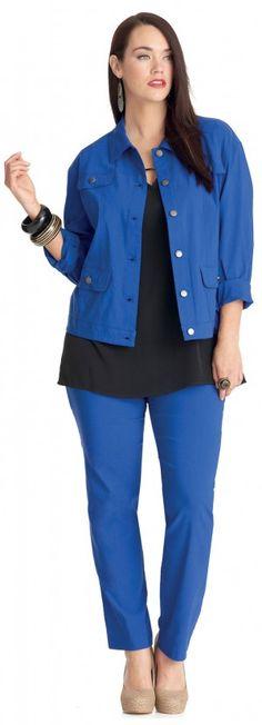 My Size Metro Jacket - June 2013 Catalogue $119.95. Blue Metro Pants $69.95
