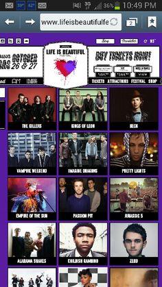 Life is Beautiful Festival, Las Vegas 2013