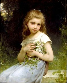 """""""Jules-Cyrille Cave was born in Paris January Cavé was a pupil of William-Adolphe Bouguereau and Tony Robert-Fleury. William Adolphe Bouguereau, Famous Art Paintings, Beautiful Paintings, Munier, Oil Painting Reproductions, A4 Poster, Portrait Poses, Fine Art, French Artists"""
