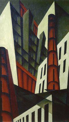 Patrimonio Industrial Arquitectónico: Arte e Industria. Pittsburgh, Louis Lozowick