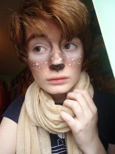 faun makeup. cuper cute! :)