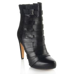 """Sam Edelman """"Kendrix"""" Leather and Buckle Bootie"""