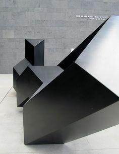 Tony Smith [American sculptor, 1912-1980] | Throwback, 1976
