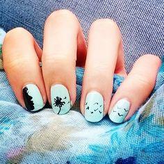 Nail Art mint par clem_mr pour le concours de @Pshiiit ! #pshiiitenfete
