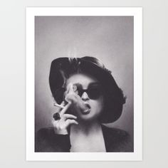 Buy Marla Singer Art Print by Brittni DeWeese. Worldwide shipping available at Society6.com. Just one of millions of high quality products available.