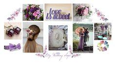 """Purple wedding"" by vualia ❤ liked on Polyvore featuring Sola, bridal, purplewedding, weddingceremony, flowercomb and etsyweddingshops"