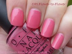 OPI Flower-to-Flower