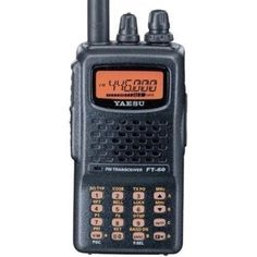 Yaesu FT-60R Dual Band Handheld 5W VHF / UHF Amateur Radio Transceiver *** This is an Amazon Affiliate link. For more information, visit image link.