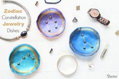 Zodiac Constellation DIY Jewelry Dish