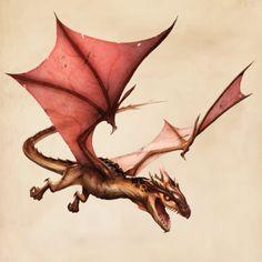 Fantastic Beasts Glossary– Dragon (Peruvian Vipertooth)