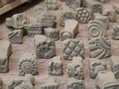 clay stamps | genius. clay stamps | art class: ceramics