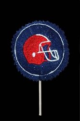 Football Helmet Candy Cover, In The Hoop | Football | Machine Embroidery Designs | SWAKembroidery.com Band to Bow
