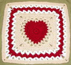 Transcendent Crochet a Solid Granny Square Ideas. Inconceivable Crochet a Solid Granny Square Ideas. Granny Squares, Crochet Squares Afghan, Crochet Square Patterns, Crochet Blocks, Crochet Granny, Crochet Motif, Crochet Stitches, Knit Crochet, Heart Granny Square