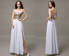 sequin prom dress, white prom dresses, dresses for prom, prom dresses 2015, long prom dress, discount prom dress, prom dress on sale, CM073