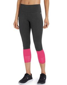 Share us with your friends! Champion Women's Mesh 3/4 Tights
