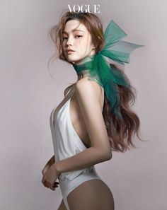 "0800blazeit: "" koreanmodel: "" Han Eu Ddeum by Cha Hye Gyung for Vogue Korea April 2016 "" Pretty """