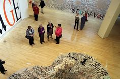 """Director's Circle Opening of """"Lesley Dill: Faith & the Devil"""""""