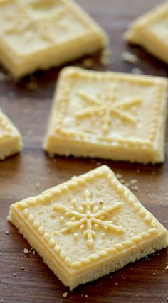 christmas cookies shortbread Weihnachtspltzchen A quick and easy Christmas Cookie Recipe that makes for a great Food Gift for Christmas. Easy Christmas Cookie Recipes, Christmas Food Gifts, Christmas Desserts, Christmas Cookies, Christmas Christmas, Christmas Shortbread Cookies, Easy Shortbread Cookie Recipe, Shortbread Recipes, Churros