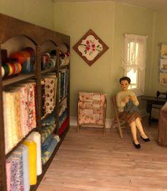 DOLLS HOUSE MINIATURE HABERDASHERY SHOPS YARN A3