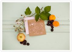 cut-out rustic wedding invitation