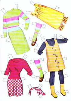 Dress-Up Dolls Paper Dolls - Part 7