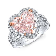 Trice Jewelers 💎 (@trice_jewelers) • Instagram photos and videos Heart Jewelry, Jewelry Gifts, Pink Diamond Jewelry, Valentines Day Hearts, Heart Shapes, Fancy, Engagement Rings, Jewels, Videos