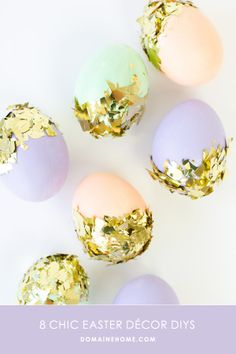 Chic and Simple Easter Decor DIYs