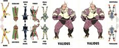 D.C. Villains Character Sheet 011
