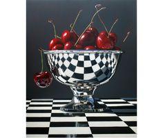 """Beautiful Bings, 60"""" x 48"""", Oil on Canvas by Darryl Gortner"""