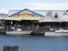 Riverwalk Restaurant - located in Tin City, Naples, Florida.