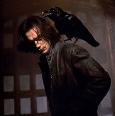 The Crow City of Angels Brandon Lee, Bruce Lee, Crow Movie, City Of Angels, Real Love, Feature Film, Live Action, American Artists, Supernatural