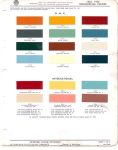 Automotive Paint Color Codes | 1973 (Chrysler) Imperial ...