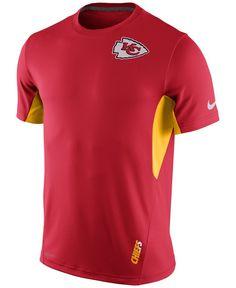 0579b1f76 Nike Men s Kansas City Chiefs Vapor T-Shirt Men - Sports Fan Shop By Lids -  Macy s