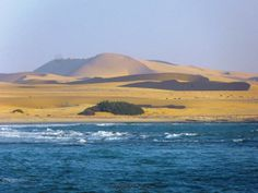 View from the #Ocean #Dunes #Namibia