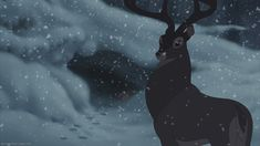 Bambi's father, The Great Prince (Patrick Stewart) is my 3rd favorite Disney father. (Bambi II)