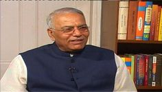 Yashwant Sinha says BJP will bring down inflation if it comes to power