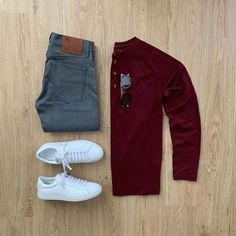visit our website for the latest men's fashion trends products and tips . Outfits Casual, Stylish Mens Outfits, Komplette Outfits, Men Casual, Fashion Outfits, Ootd Fashion, Fashion Trends, Parisian Fashion, Stylish Clothes