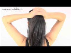 Tip belleza 5 tipos de peinados con cola de caballo - YouTube