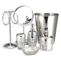 Fine Mercury Glass Bathroom Accessories Paradigm Crackle Bath On Decorating