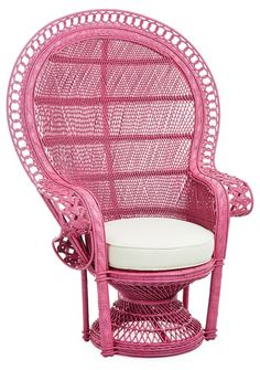 Peacock Chair, Hibiscus