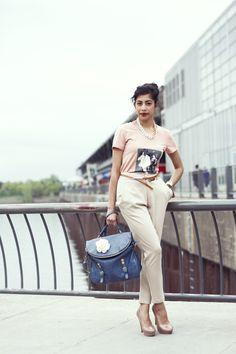 Saturday Streetstyle!  Model: Shrabani Debroy Photography: Alex C.D photography  #fashion #streetstyle #Montreal #ootd