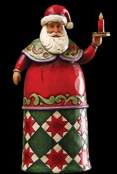 Santa with candle 4017856e