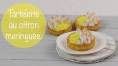 Tartelette Au Citron Meringuée (pâte polymère)
