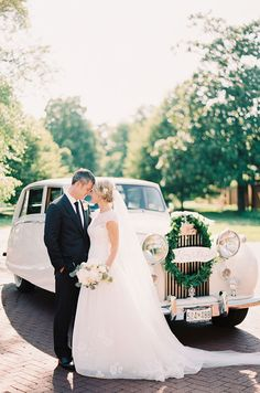 This bayside wedding began at the Trinity Cathedral in Maryland where the bride and groom exchanged their vows in front of family and guests in a beautiful ceremony.