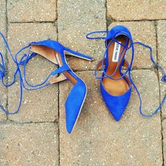 """HP""""Raela"""" Heels NWT A beautiful pair of BLUE NUBUCK Steve Madden heels.  """"Raela"""" Style. Wraps around the ankles. Super Comfortable.  4.25"""" in heel  Leather Upper Material  True to Size  BRAND NEW//WILL COME IN SHOE BOX  I DO NOT TRADE  PRICE IS FIRM  Steve Madden Shoes Heels"""
