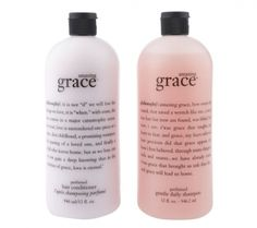 philosophy super-size amazing grace shampoo and condtioner duo