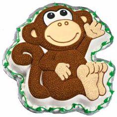 Monkey Cake I'm going to make for my nephews birthday!