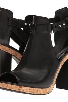 LAUREN Ralph Lauren Fiana (Black) High Heels - LAUREN Ralph Lauren, Fiana, 802640525001-001, Footwear Open Over 3 inch heel, Over 3 inch heel, Open Footwear, Footwear, Shoes, Gift, - Street Fashion And Style Ideas